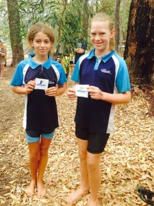Congratulationd girls. Harriette 2nd K1 Under 14. Angelina 3rd. — with Kathy Mallory, Gerry Winter and Pamela Pearson.